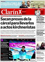 Cristina baila la música de Clarín