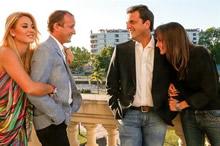 Daniel, Mauricio, Sergio (y Milton)