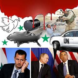 Dejen gasear a Bashar