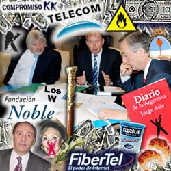 De Telecom a Papel Prensa