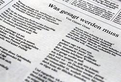 Günter Grass, poeta alborotador