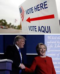 La monotonía de Hillary y la aventura de Donald