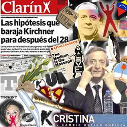 Kirchner, Mc Luhan y Clarín