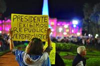 La catarsis de la Argentina blanca