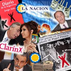Separar La Nación de Clarin