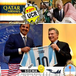 El combo del Emir de Qatar