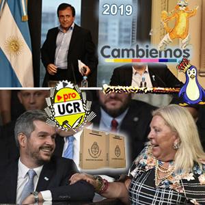 Hoy gobierna la dupla Peña-Carrió