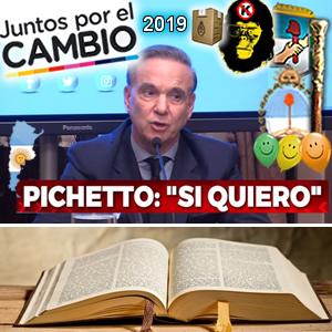 El Evangelio según Pichetto