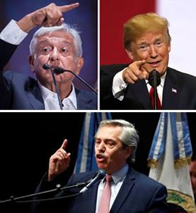 Llamada providencial de Trump